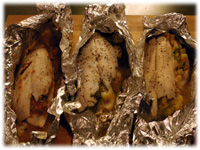 how to make fish in foil on the barbecue