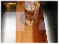 soaking cedar plank