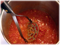 crushed tomato sauce recipe