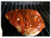 bbq chicken in honey garlic sauce