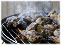 honey garlic bbq wings
