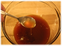 honey hot wing sauce for chicken