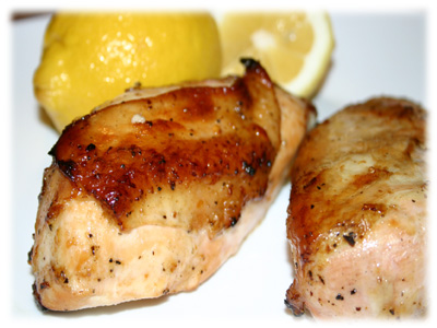 bbq lemon chicken recipe