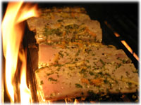 flame grilled mahi fish