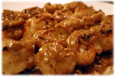 spicy thai grill shrimp