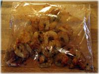 spice shrimp for paella