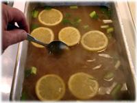 making peking duck water bath