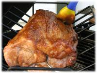 smoked pork roast recipe