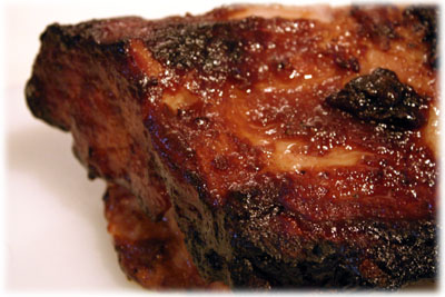 maple mustard glazed pork roast recipe
