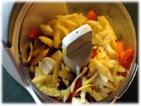 lemon pepper garlic in a blender