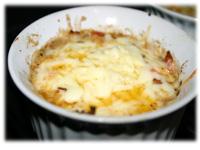 cheese shrimp bruschetta