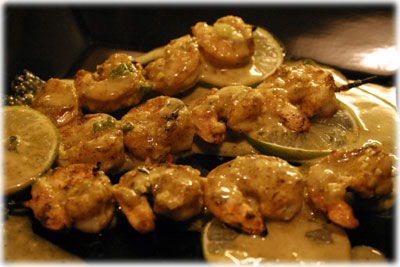 marinated shrimp curry recipe with sauce