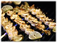 bbq curry shrimp kabobs recipe
