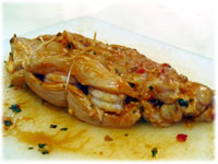 shrimp stuffed chicken breast recipe