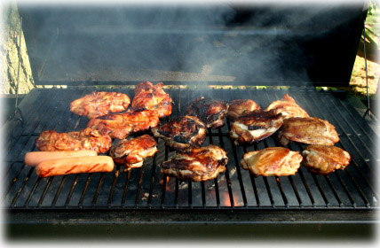 turn gas grill into smoker grill