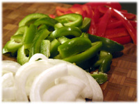 steak fajita vegetables recipe
