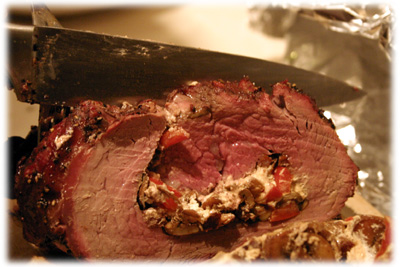 how to make a stuffed beef tenderloin