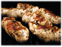 grilled stuffed chicken