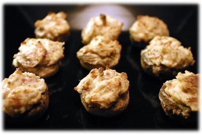 stuffed mushrooms recipe for BBQ