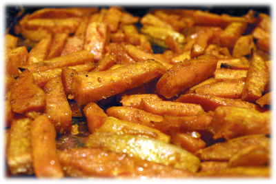 aweet potato fries recipe