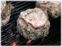 bacon wrapped turkey burger recipes