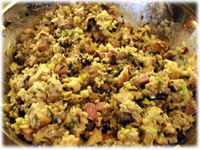 best turkey stuffing in a pumpkin recipe