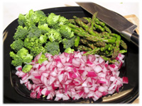 prepare vegetable pizza recipe for bbq