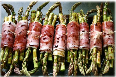 Amazing grilled asparagus from tasteofBBQ.com