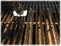 how to oil a grill