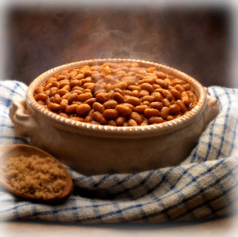 BBQ Side dish of baked beans