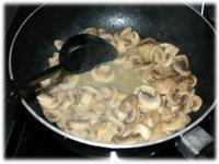 mushrooms in butter
