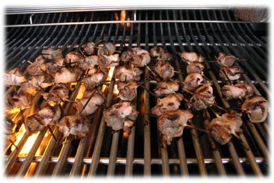 juicy grilled beef tenderloin appetizers