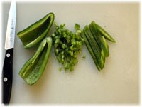 diced jalapeno peppers