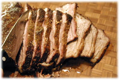 Amazing tender and juicy beef brisket recipe from tasteofBBQ.com