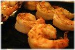 grilling buffalo shrimps