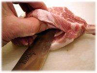 how to stuff pork chops