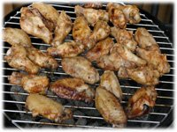 how to grill wings