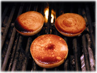 how to grill caramelized onions recipe