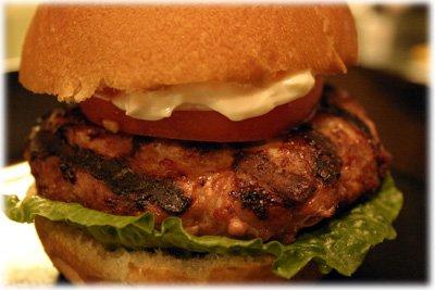 best ground chicken burger