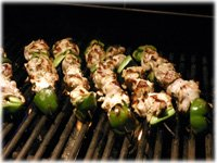 how to grill chicken souvlaki