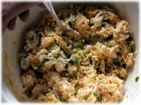crab and cheese stuffing