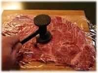 how to flatten stea