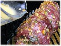 basting sauce bbq beef orange ginger