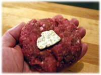 shaping hamburger patties