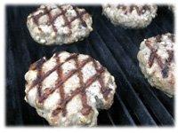 diamond pattern on burgers
