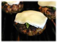 Italian grilled cheeseburgers