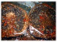 feta stuffed grilled portabella mushrooms