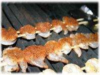hot grilled shrimp skewer recipe