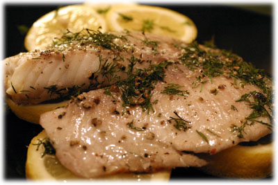 grilled tilapia and lemons