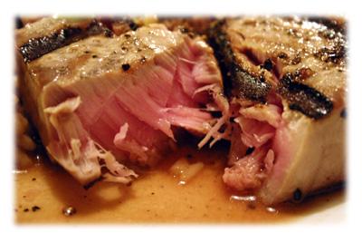 grilled sushi tuna